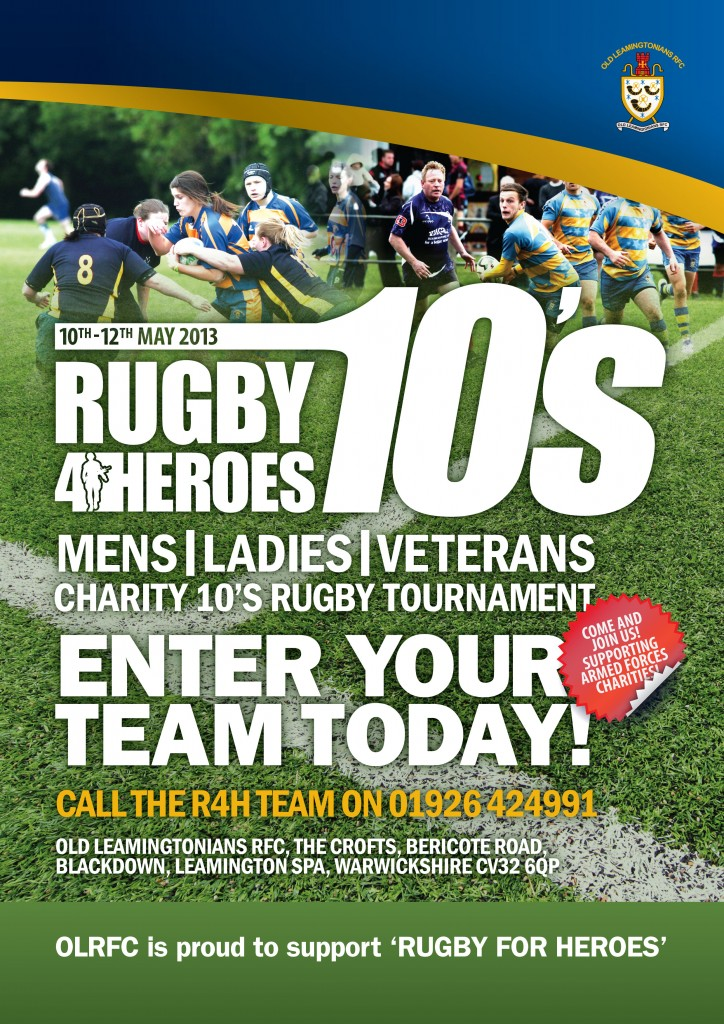 Rugby4Heroes 10s Team Entry