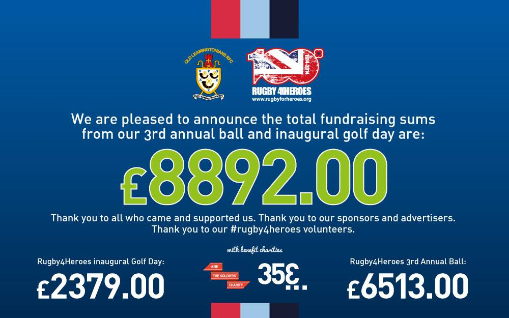 Rugby4Heroes Fundraising